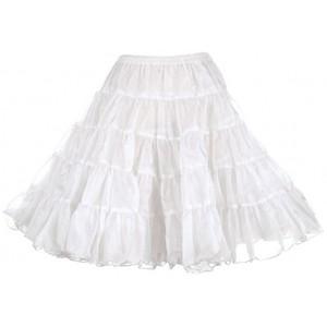 White Petticoat Skirt