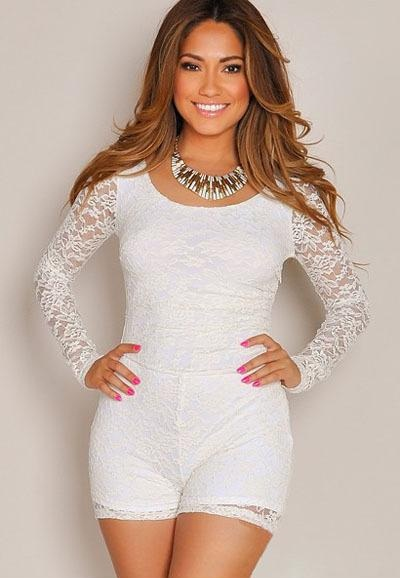 White Jumpsuits for Juniors