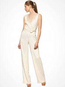 Wide Leg Jumpsuit for a Wedding