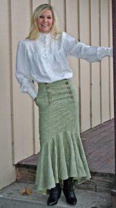 Womens Western Skirts