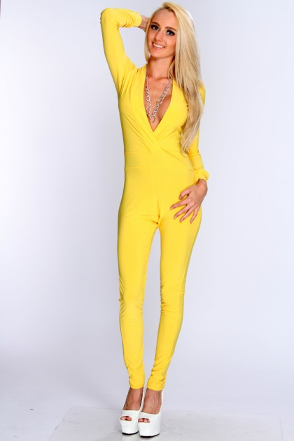 Yellow Jumpsuit | Dressed Up Girl