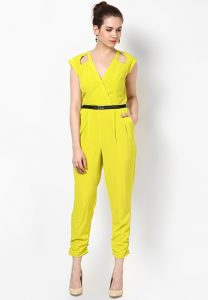 Yellow Jumpsuit Women