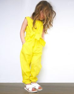 Yellow Jumpsuit for Kids