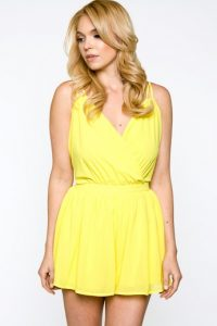 Yellow Romper