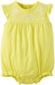Yellow Romper Baby