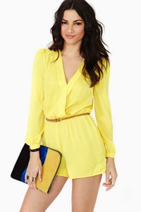 Yellow Romper Images