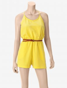 Yellow Romper Juniors