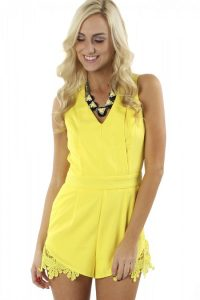 Yellow Romper Pictures