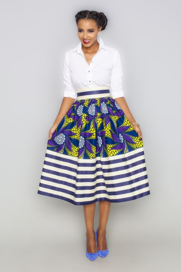African Skirts Styles