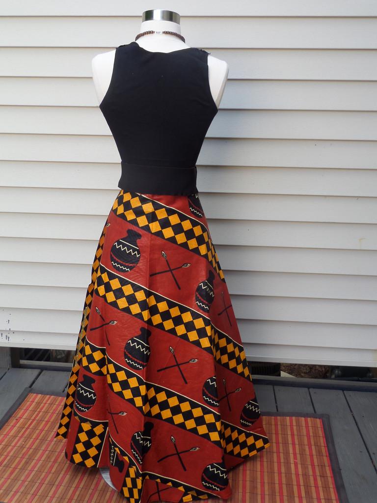 Wrap Skirt Dressed Up Girl