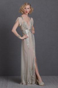 Art Deco Evening Gown