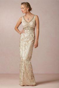 Art Deco Wedding Gown