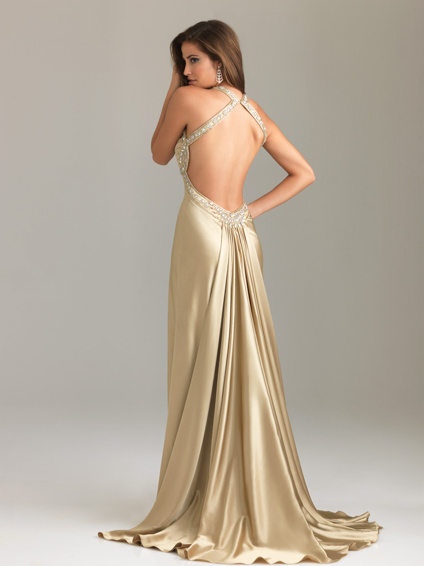 Backless Evening Gowns - Dressed Up Girl
