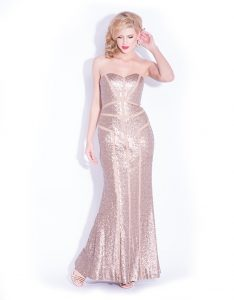 Bariano Art Deco Gown