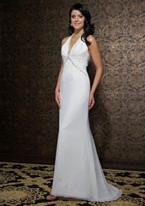 Beach Bridal Gowns Pictures