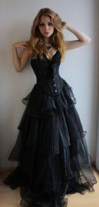Black Corset Gown