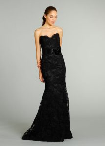 Black Couture Gown