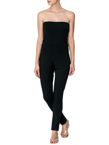 Black Strapless Jumpsuits