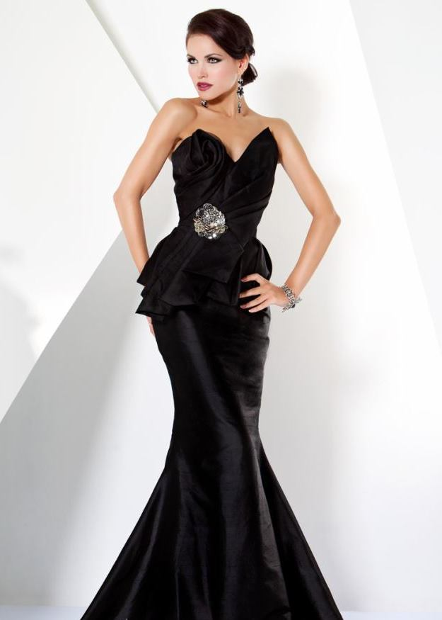 Black Tie Gowns Dressed Up Girl