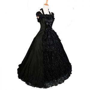 Black Victorian Gown
