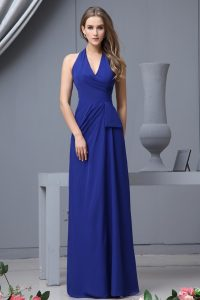 Blue Chiffon Gown