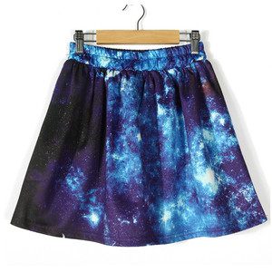 Blue Galaxy Skirt