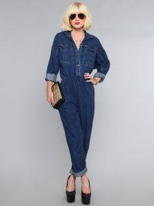 Blue Jean Jumpsuit