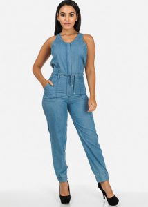 Blue Jean Jumpsuit