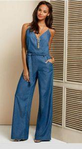 Blue Jean Jumpsuits