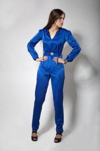 Blue Jumpsuit Women