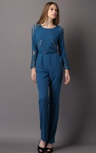 Blue Jumpsuit Womens