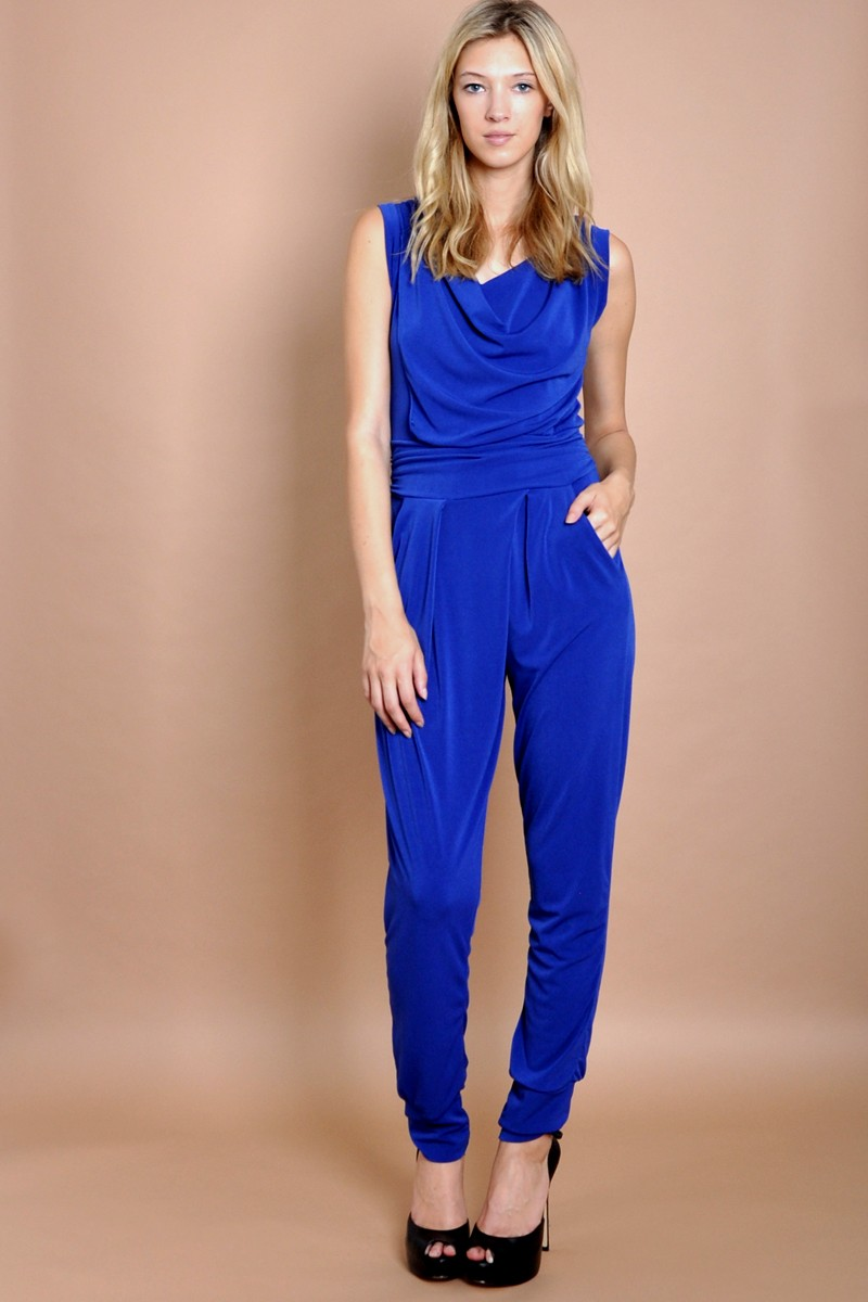 Product Features overlay adds chic appeal. Off shoulder ruffled jumpsuits for women.