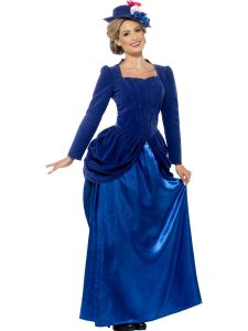 Blue Victorian Gown