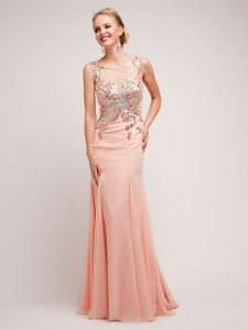 Blush Prom Gowns