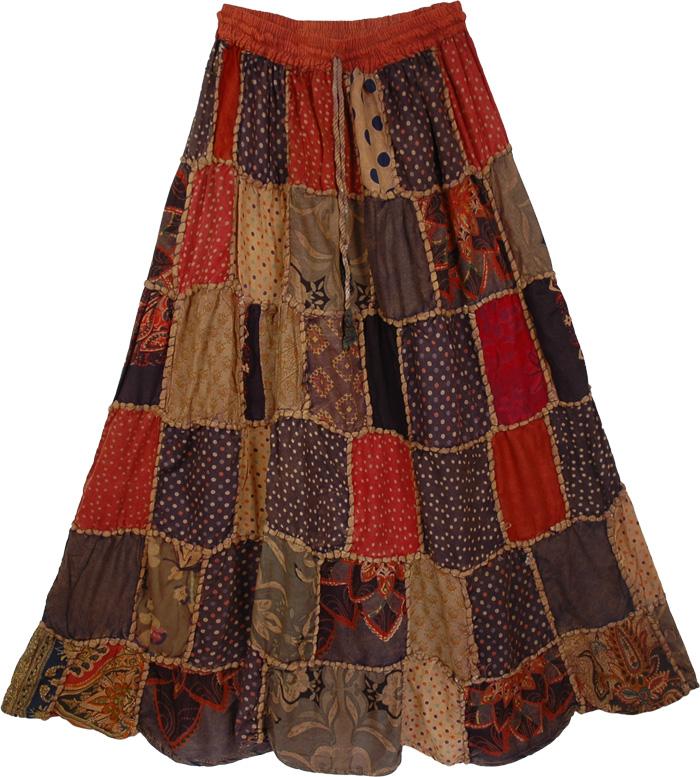 She's long bohemian skirt ubadanje