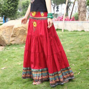 Bohemian Long Skirts