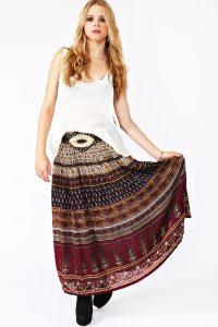 Bohemian Maxi Skirts