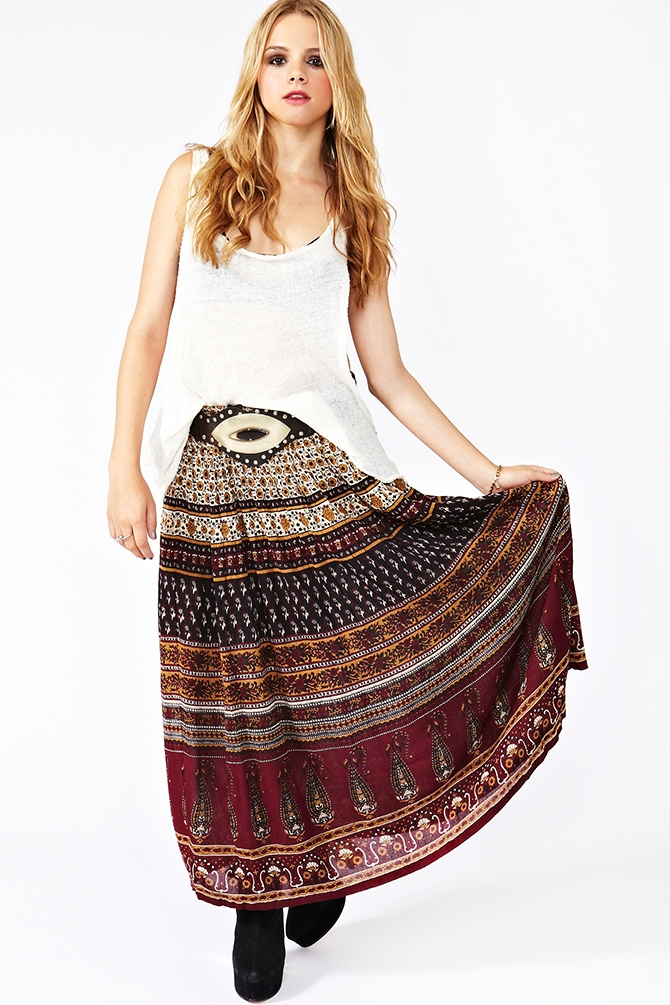 Bohemian Skirts | Dressed Up Girl