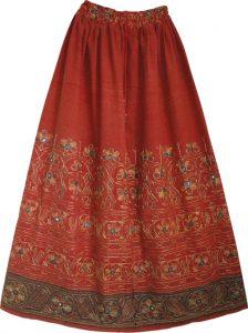 Bohemian Style Skirts