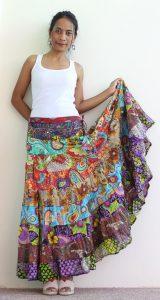 Boho Hippie Skirt