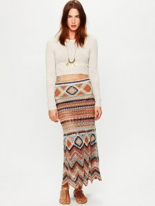 Boho Maxi Skirts
