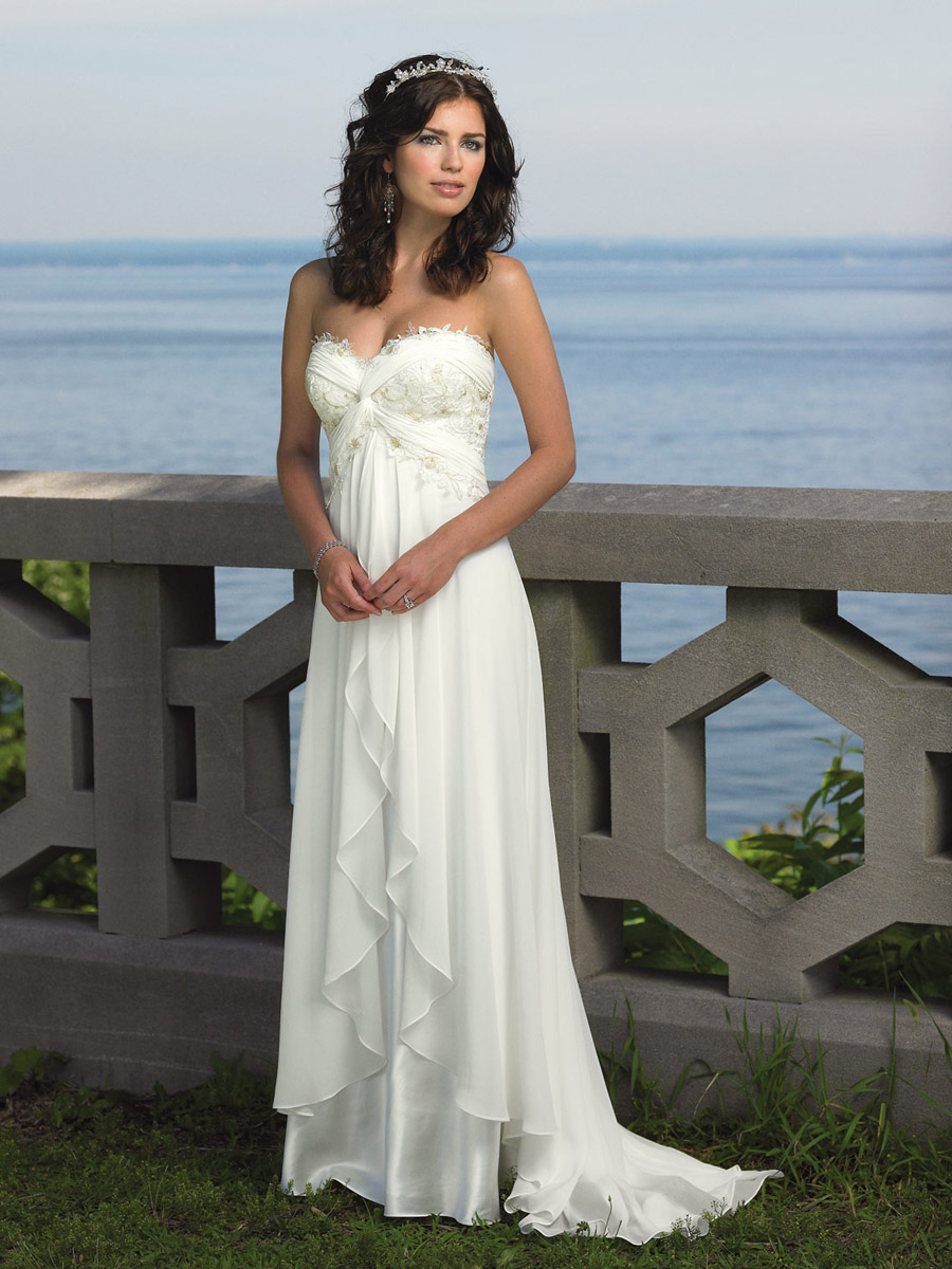 Beach Bridal Gowns | Dressed Up Girl