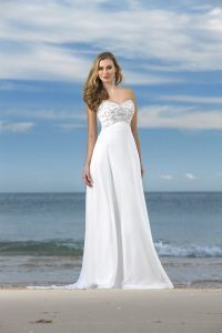 Bridal Gowns Beach Wedding