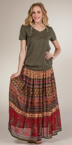 Broomstick Skirts Plus Size