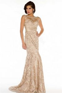 Champagne Evening Gowns
