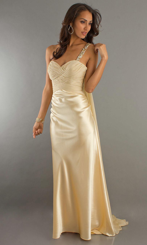 Champagne Gown Dressedupgirl Com