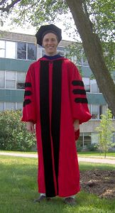 Cornell Doctoral Gown