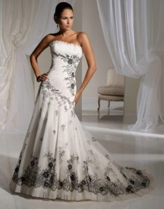 Corseted Gown