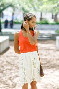 Crochet Skirt Outfit