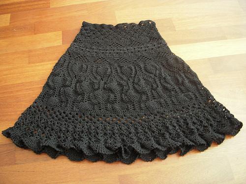 Crochet Pattern Skirt : Crochet Skirt Dressed Up Girl